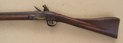 "A FINE+ AMERICAN USED NAPOLEONIC/WAR of 1812 PERIOD ENGLISH FLINTLOCK ""ROYAL ARTILLERY/ SERGEANT'S"" CARBINE, ca. 1810s view 2"