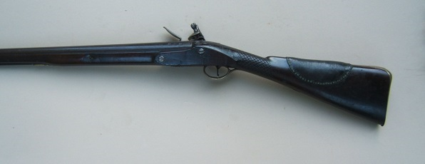 A VERY GOOD GEORGIAN-COLONIAL/FRENCH & INDIAN WAR PERIOD ENGLISH FLINTLOCK FOWLER, by WILLIAM HENSHAW, ca. 1750 view 2