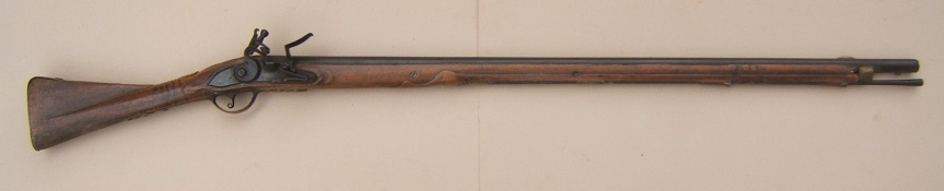 "A SCARCE UNTOUCHED AMERICAN REVOLUTIONARY WAR PERIOD GERMANIC FLINTLOCK ""HESSIAN"" MUSKET, ca. 1740 view 6"