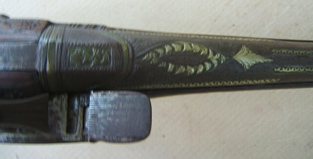 A FINE QUALITY BALKAN (ALBANIAN) MIQUELET HOLSTER PISTOL, ca. 1820-1840 view 4