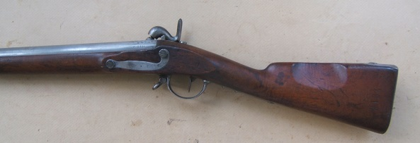 A VERY FINE CIVIL WAR PERIOD FRENCH MODEL 1822 INFANTRY MUSKET, Dtd. 1822/1831 view 2