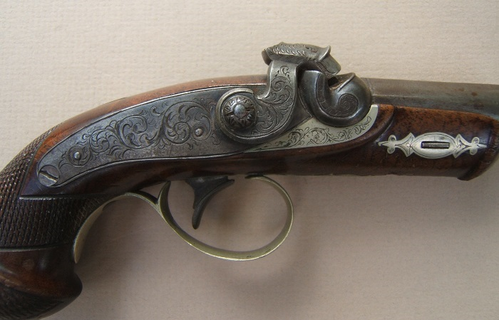 A VERY GOOD+ AMERICAN PERCUSSION DERRINGER, ca. 1850s view 3