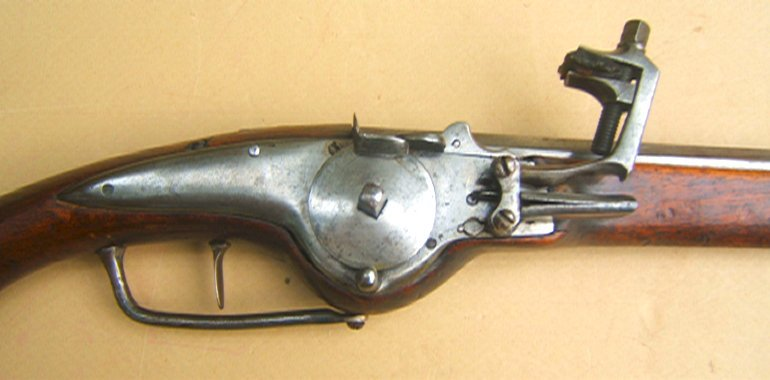 A VERY FINE+ 30 YEARS WAR PERIOD GERMAN WHEELOCK OFFICER'S PISTOL, ca. 1630 view 3