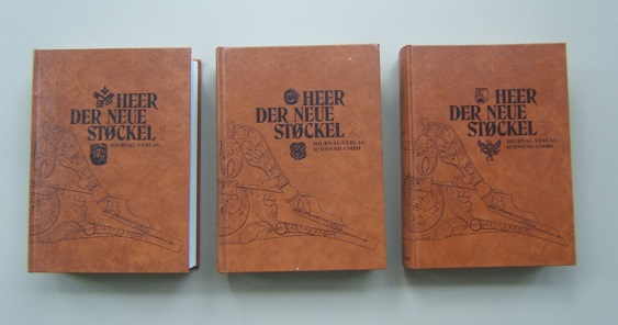 A VERY FINE SCARCE COMPLETE THREE (3) VOLUME SET of EUGENE HEER'S: